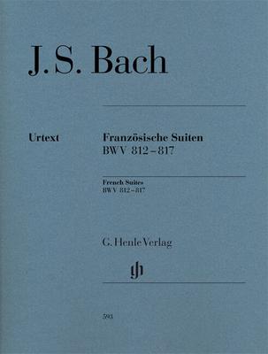 Henle Urtext Editions / Suites Françaises French Suites BWV 812-817 / Johann Sebastian Bach / Henle