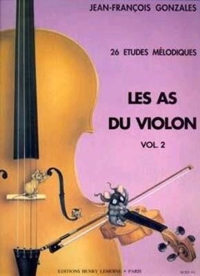 Les As du violon Vol.2 /  / Henry Lemoine