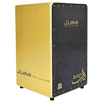 LEIVA Cajon Zoco 2.0 Limited Anniversary Gold Sparkle