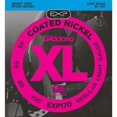 D'Addario EXP170 – 045- 100 Nickel Long Scale