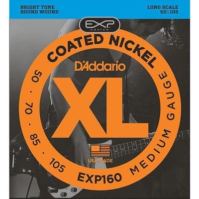 D'Addario EXP160 – 050 – 105 Nickel Long Scale
