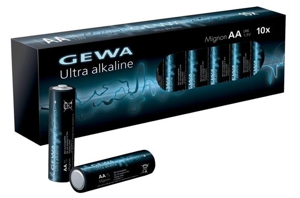 Gewa Batteries AA Alka Paquet De 10