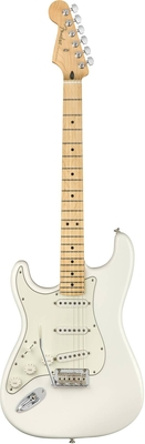 Fender Player Stratocaster Left-Handed Maple Fingerboard Polar White