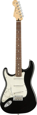 Fender Player Stratocaster Left-Handed Pau Ferro Fingerboard Black