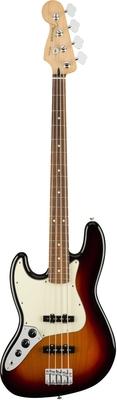 Fender Player Jazz Bass Left-Handed Pau Ferro Fingerboard 3-Color Sunburst
