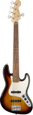 Fender Player Jazz Bass V Pau Ferro Fingerboard 3-Color Sunburst