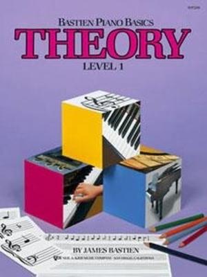 Bastein Piano Basics Level 1 – Theory / Bastien James / Kjos Music Co