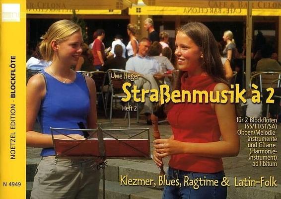 Strassenmusik à 2 / Heger Uwe / Jetelina