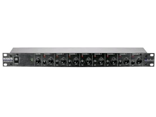 ART MX821S 8 Channel Stereo Mic/Line Mixer 1U