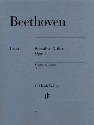 Sonatina In G Major Op. 79 / Ludwig van Beethoven / Henle