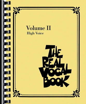The Real Vocal Book Volume 2 high voice /  / Sher Music
