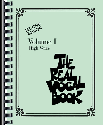 The Real Vocal Book Volume 1 high voice /  / Sher Music