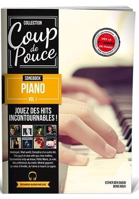 Coup de Pouce Songbook piano vol1 avec fichiers audio inclus – Nouveauté 2018 /  / Editions Coup de pouce