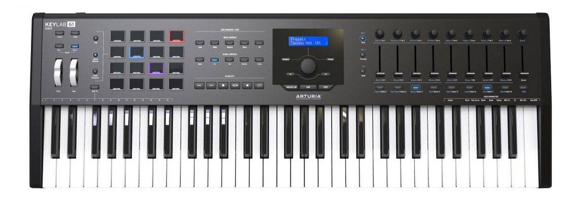 Arturia Keylab 61 MKII Black Edition