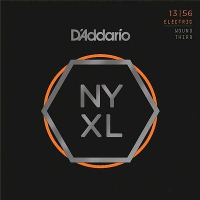 D'Addario El. »New York XL» Nickel Round Wound .013-.056 with Medium Wound 3rd