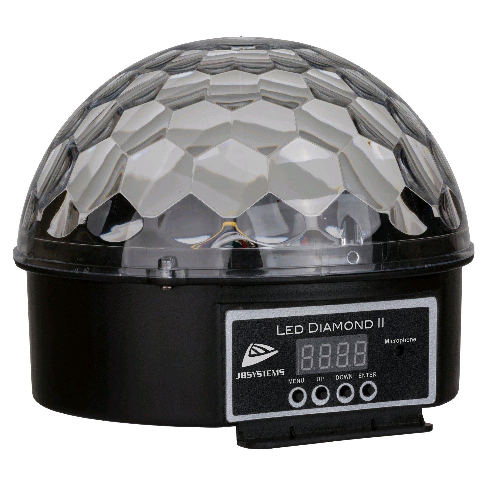 JBSYSTEMS LED DIAMOND II – DJ Effect avec 6 led de différentes couleurs : photo 2