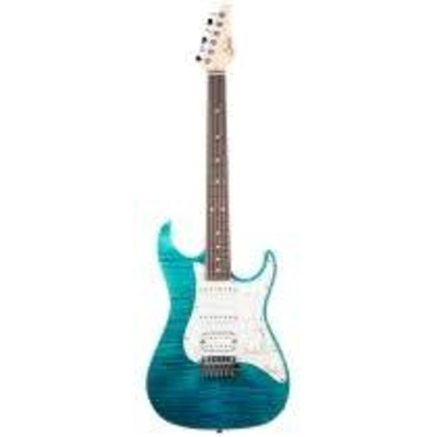 Suhr Guitars Standard pro Bahama blue RW