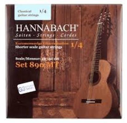 Hannabach Cordes pour guitare 1/4