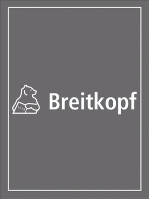 Drei Sonaten  Jacques Paisible  Alto Recorder and BC /  / Breitkopf