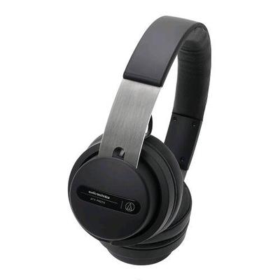 Audio Technica Pro ATH-PRO7X Casque pour DJ avec coques rotatives de type supra-aural offrant une excellente isolation, transducteurs à large ouverture de 45mm pour une reproduction sonore extrême, avec câbles spirale et droit détachables