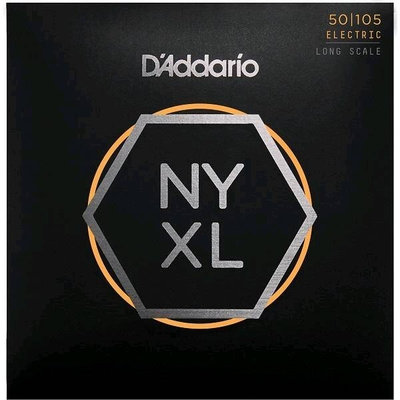 D'Addario El. Bass »New York XL» .050-.105 Nickel R/W Long Scale, Medium