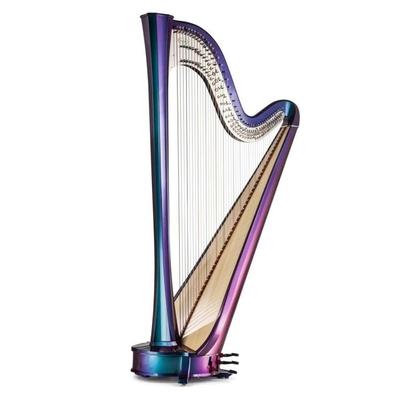 Salvi Rainbow Electric Harp Concert Grand