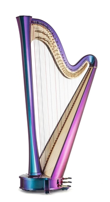 Salvi Rainbow Electric Harp Semi-Grand