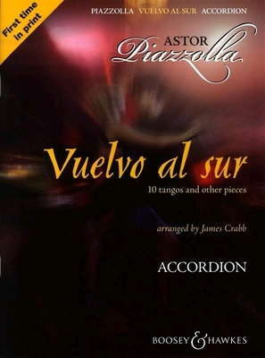 Vuelvo Al Sur 10 tangos and other pieces Astor Piazzolla  Accordion /  / Boosey & Hawkes
