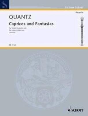 Caprices & Fantaisies  Johann Joachim Quantz  Altblockflöte /  / Buch