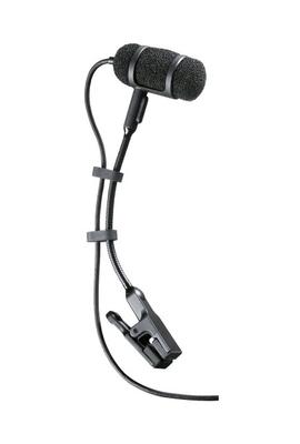 Audio Technica Pro PRO35cW Microphone cardiode à condensateur avec pince pour instrument avec connecteur HRS (A-T Wireless)