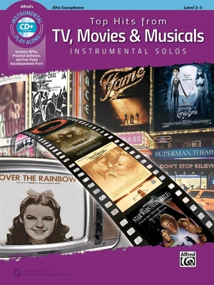 Top Hits from TV Movies & Musicals    Alto Saxophone /  / Alfred Publishing