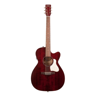 Art & Lutherie A&L Concert Hall »Legacy» Tennessee Red with QIT & Cutaway