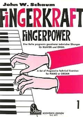 Fingerkraft Heft 1 Klavier /  / Bosworth