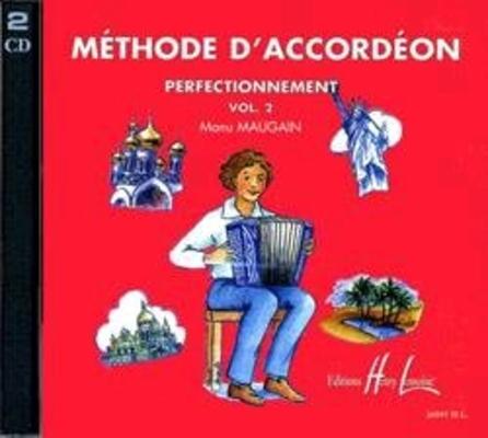 CD Méthode d'accordéon Vol.2  Manu Maugain   Accordion /  / Henry Lemoine