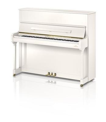 Bechstein Academy A124 Style Blanc brillant