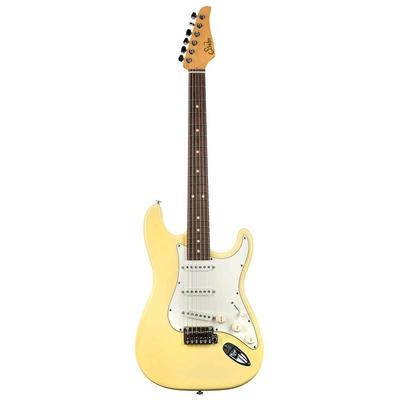 Suhr Guitars Classic S, Vintage Yellow