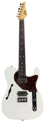 Suhr Guitars Alt T Olympic White Indian Rosewood fingerboard HH