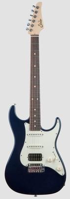 Suhr Guitars Standard Alder Mercedes Blue Metallic Indian Rosewood fingerboard HSS SSCII