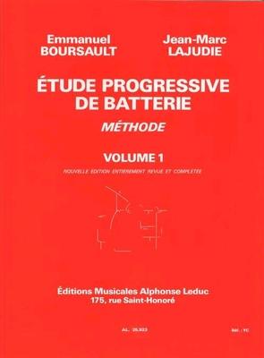 Etude Progressive de Batterie 1 Boursault Lajudie   Drum Set /  / Leduc