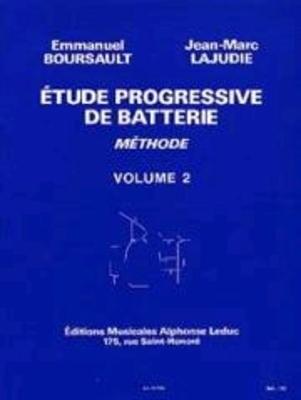 Etude Progressive de Batterie 2  Emmanuel Boursault   Drum Set /  / Leduc