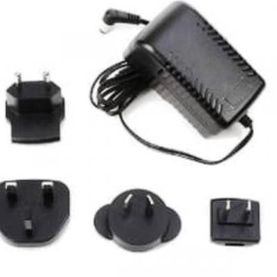 Dunlop Transformateur 18-volt 2000mA AC with European adapters for DC Brick (M237)