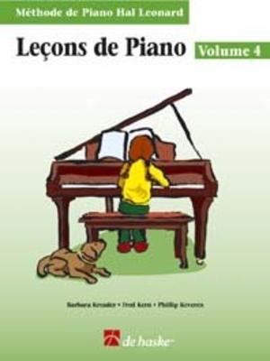 Méthode de Piano Hal Leonard / Leçons de Piano, volume 4 (avec Cd) Méthode de Piano Hal Leonard /  / De Haske