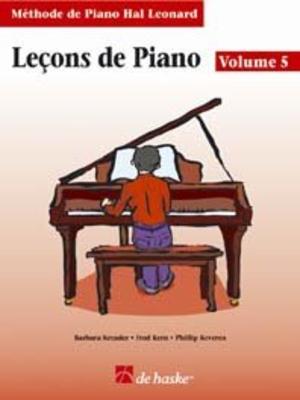 Méthode de Piano Hal Leonard / Leçons de Piano, volume 5 (avec Cd) Méthode de Piano Hal Leonard /  / De Haske