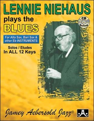 Lennie Niehaus Plays The Blues E-Flat Edition Lennie Niehaus   Flute Violin Guitar Clarinet Trumpet Saxophone Trombone Chords /  / Aebersold