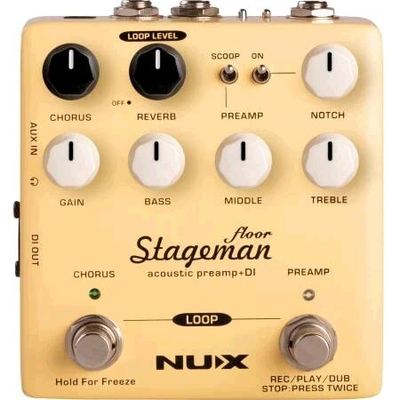 NUX Stageman Acoustic Preamp + DI
