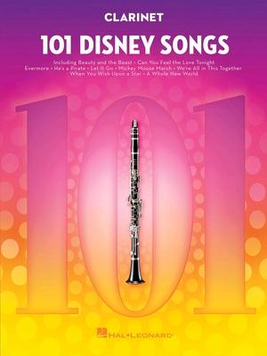 101 Disney Songs for Clarinet    Clarinet Instrumental Folio /  / Hal Leonard