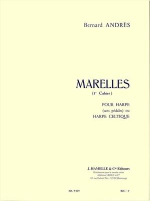 Marelles pour Harpe 1  Bernard Andres   Harp /  / Hamelle