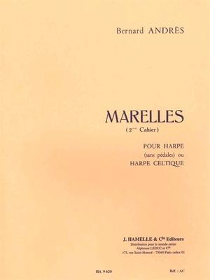 Marelles pour Harpe – 2ème Cahier  Bernard Andres   Harp /  / Hamelle