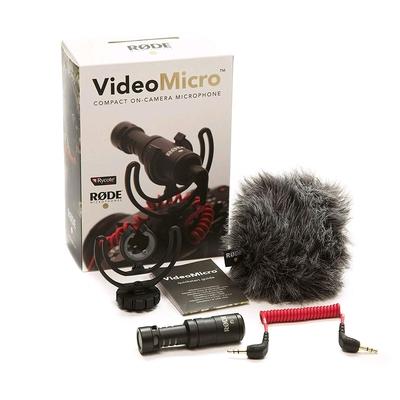Rode VideoMicro – micro à condensateur pour caméra vidéo ou APN