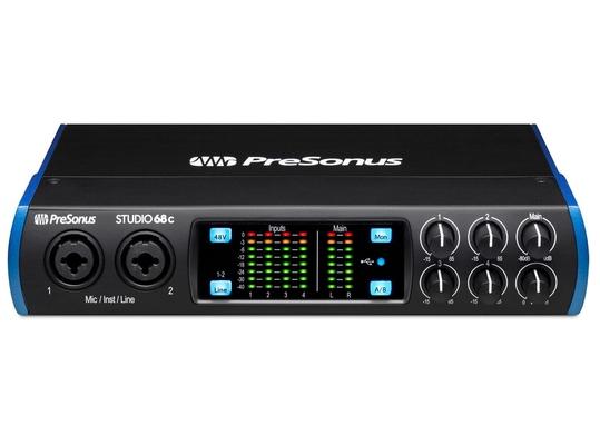 Presonus Studio 68c – USB Audio Interface 6In/8Out USB-C